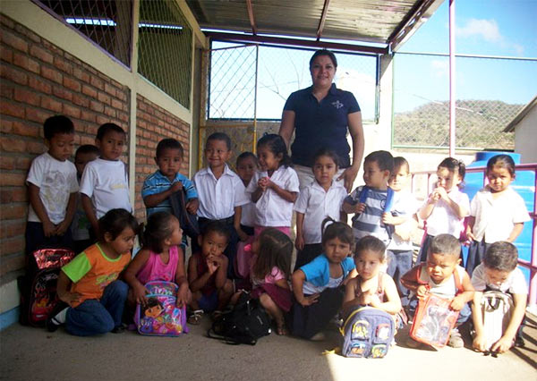 Children-with-Teacher-Nicaragua-Responsibility